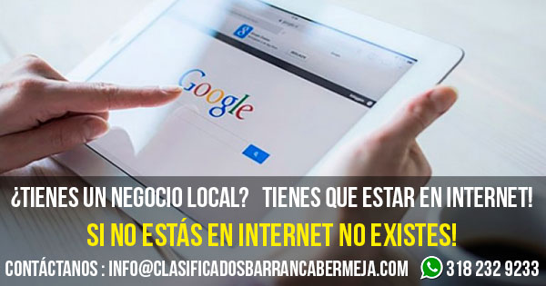 TÚ NEGOCIO LOCAL EN LA PRIMERA PAGINA DE GOOGLE!